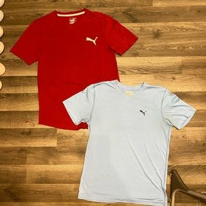 Bundle of puma men tshirts